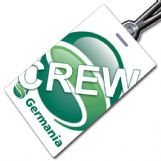 Germania logo crew tag
